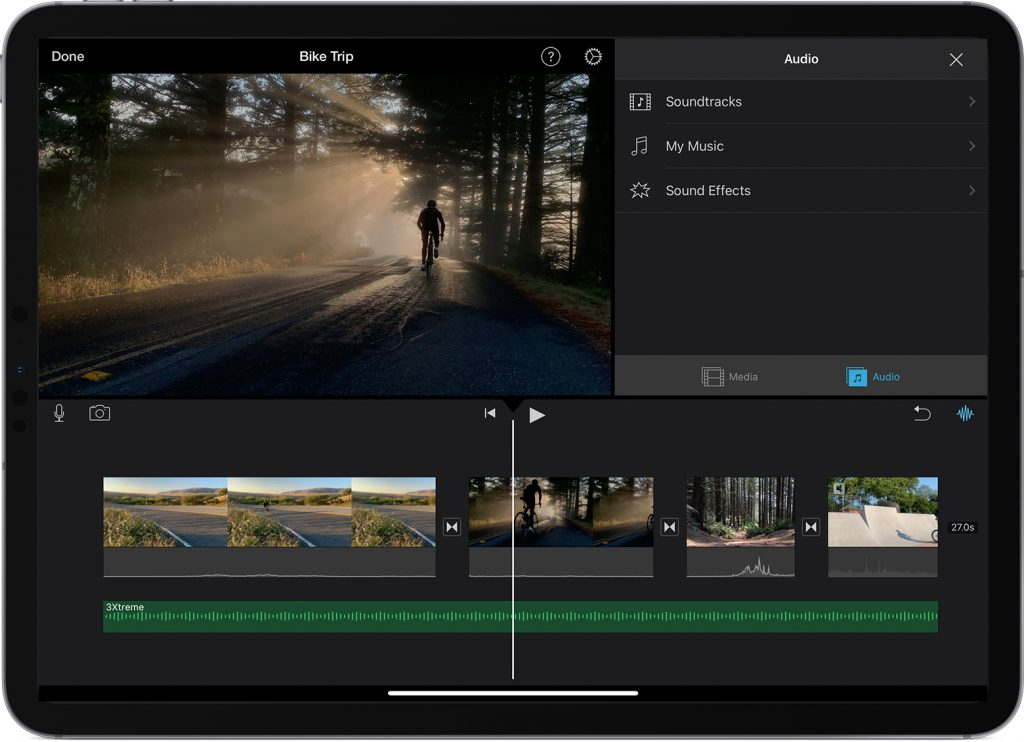 add spotify songs to imovie on iphone, ipad, or ipod touch