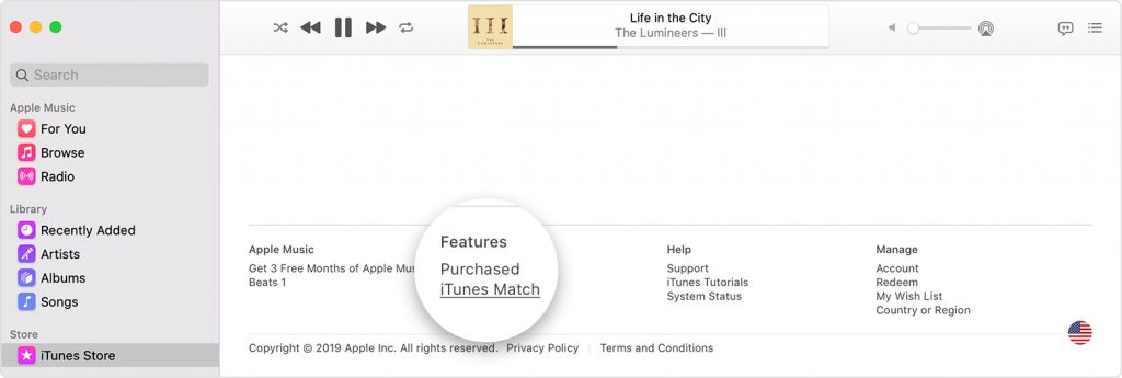 how to subscribe to itunes match