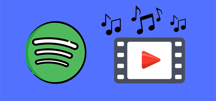 add spotify music to video