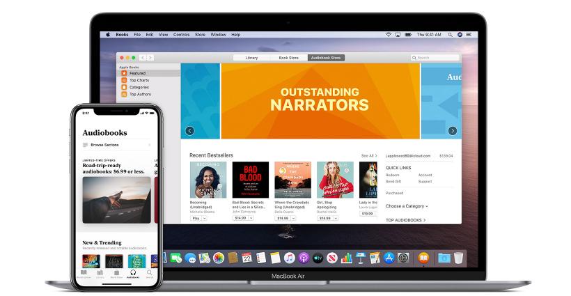 apple audiobook