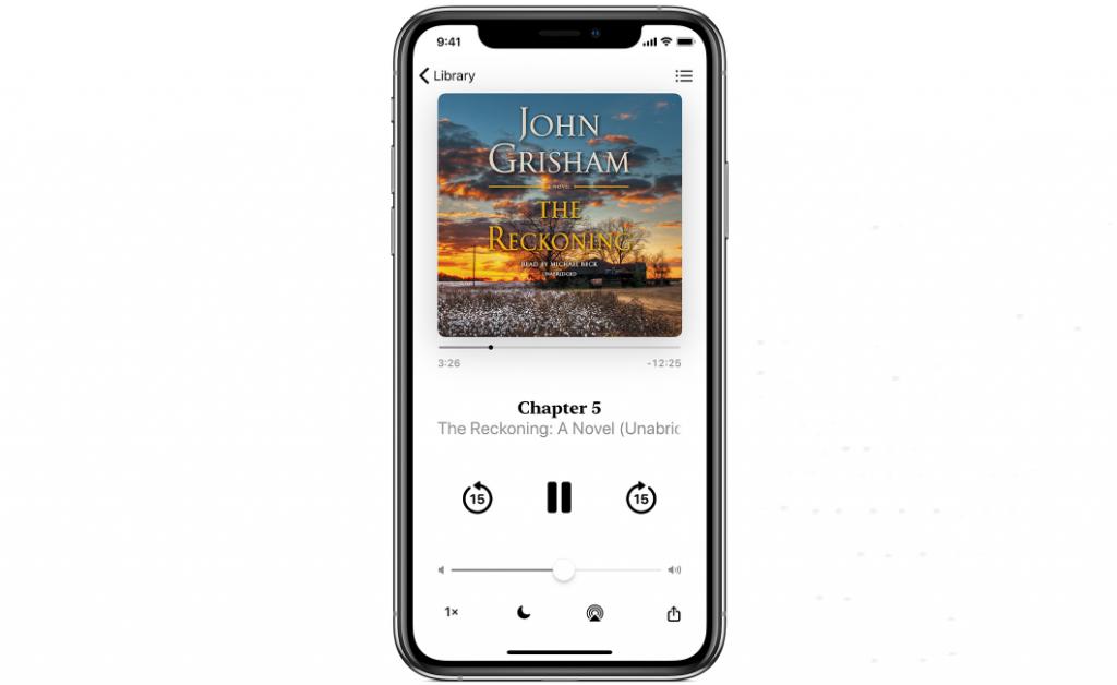 audiobooks playback