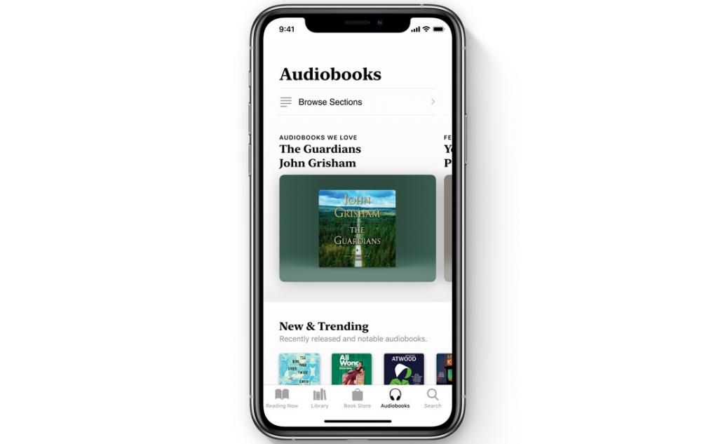 audiobook store