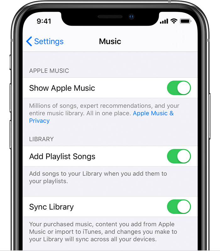 transfer music to ipod from music library