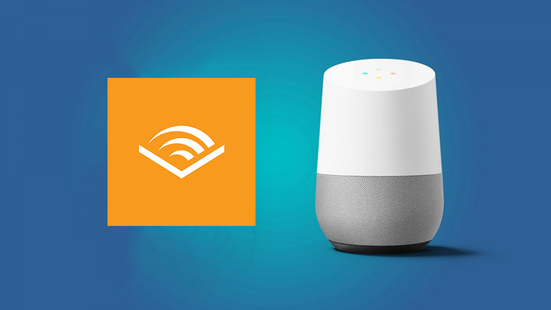 audible on google home