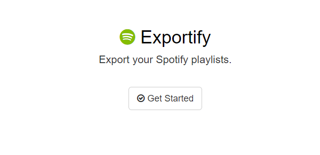 export spotify playlist to text