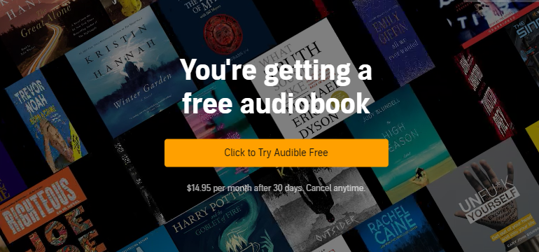 get free audible audiobooks