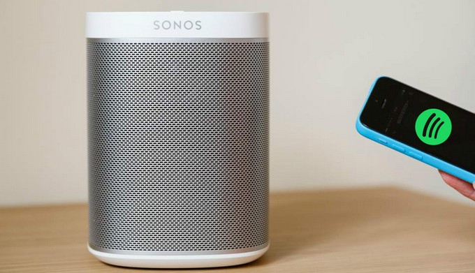 play spotify music on sonos