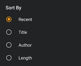 sort out audible books