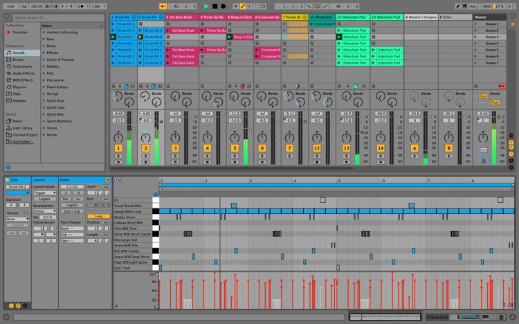 add music to ableton live