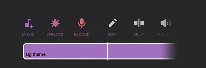 add music to inshot
