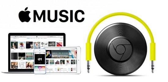 stream apple music to chromecast
