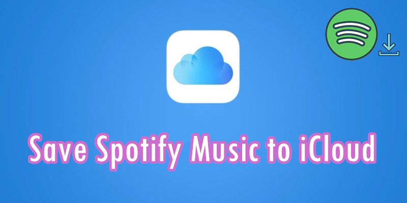 save spotify music to icloud