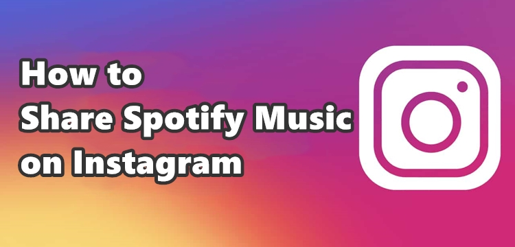 share spotify music on instagram