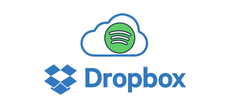 save spotify music to dropbox