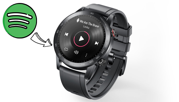 play spotify music on honor magicwatch 2