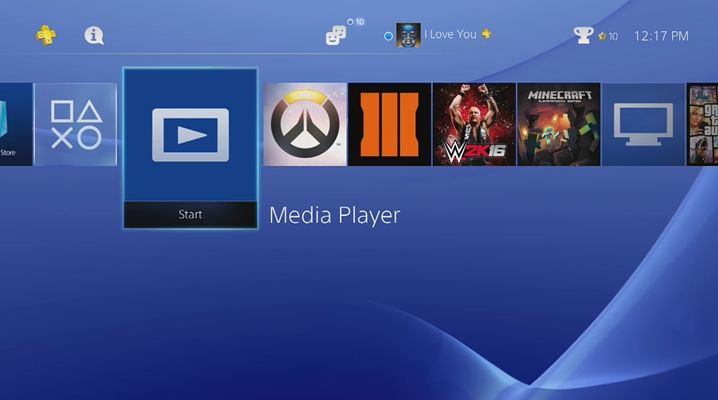 move audible to ps4