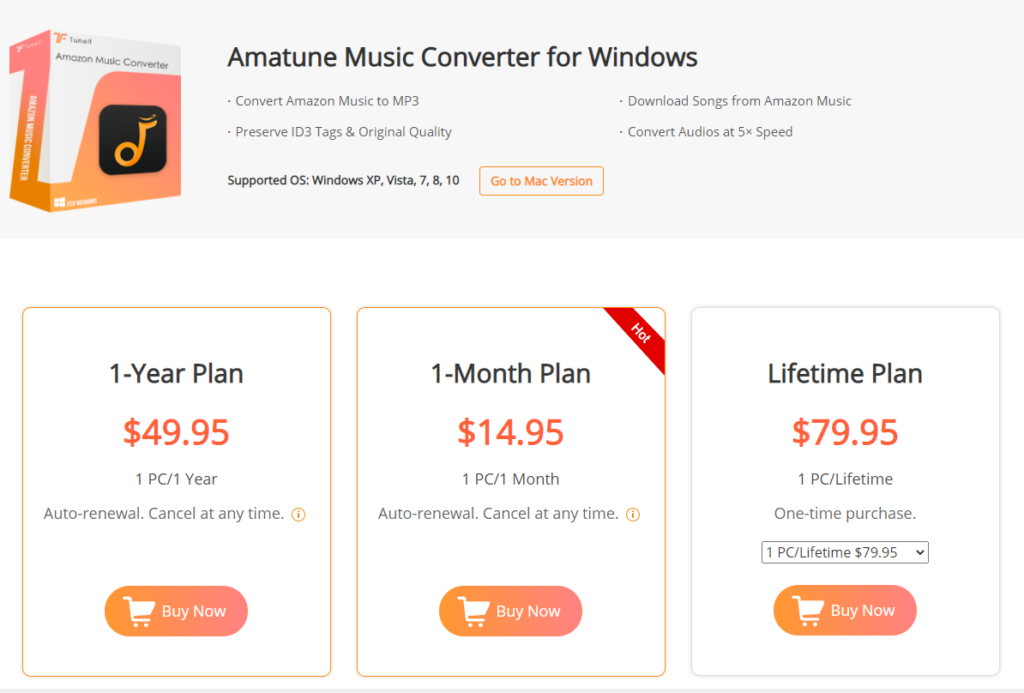 price of tuneif amatune music converter