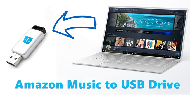amazon music to usb drive