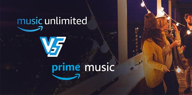 amazon music unlimited vs prime music