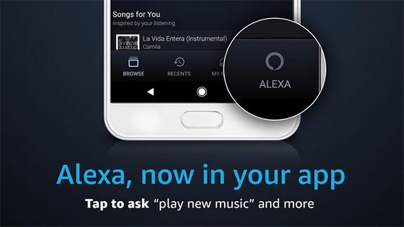 amazon music and alexa