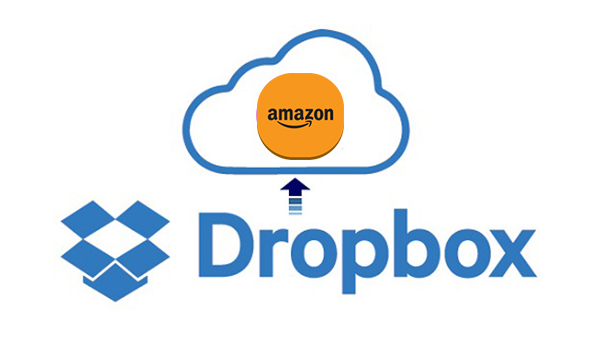 move amazon music to dropbox