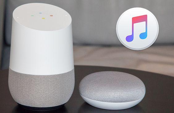 play apple music on google home
