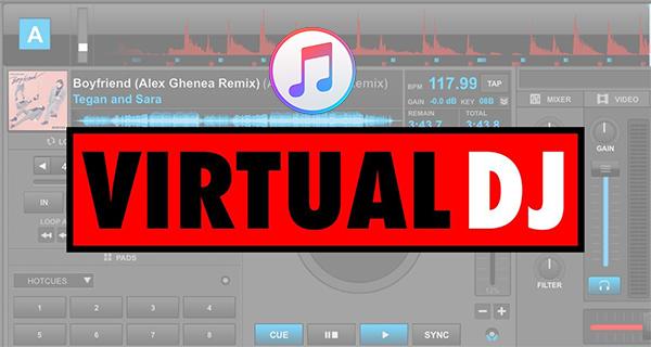 apple music on virtual dj