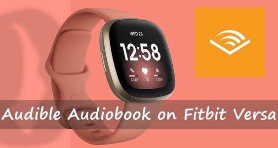 audible audibook on fitbit versa