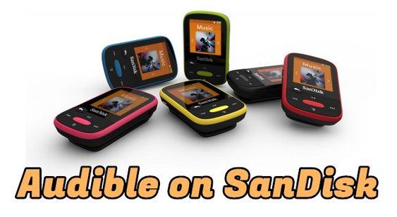 audiobooks on sandisk
