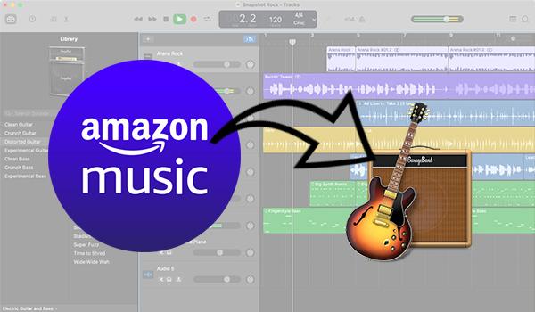 import amazon music to gaegeband