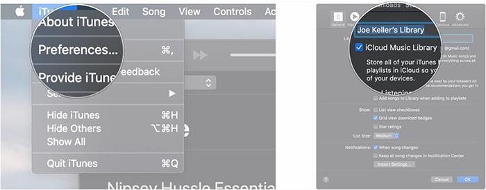 mac icloud music library reload