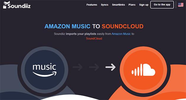 soundiiz amazon music to soundcloud