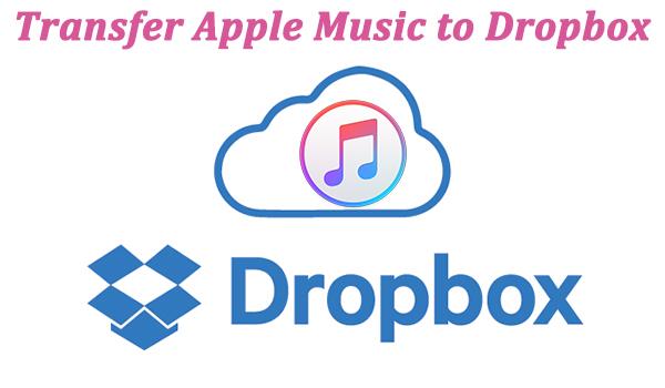 transfer apple music to dropbox