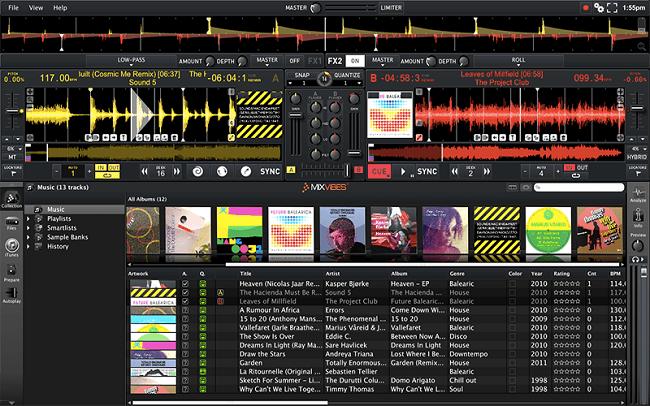 add music to cross dj