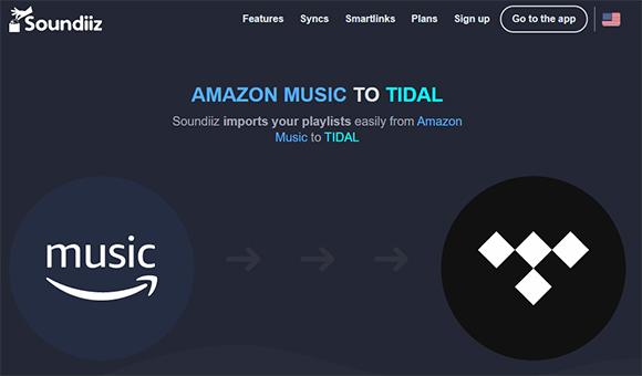 amazon music to tidal soundiiz