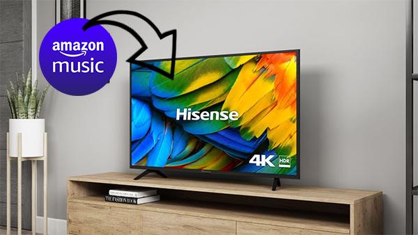 play amazon music on hisense tv