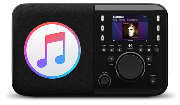 stream apple music to squeezebox